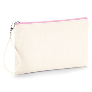 WM520 Canvas wristlet pouch